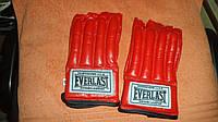 Перчатки снарядные шингарты обрезан. кожа Everlast