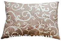 Подушка стеганая ткань бязь, наполнитель холлофайбер ХБ14