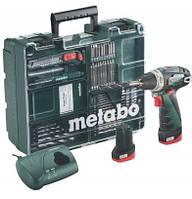 Мобильная мастерская Metabo BS 10,8 Li + 63 принадлежности (2 аккумулятора)