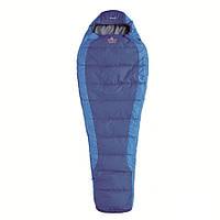 Спальный мешок правый PINGUIN Junior 150 синий R