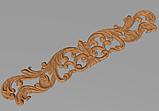 Код ДГ 28.Деревянный резной декор для мебели. Декор горизонтальный, фото 2