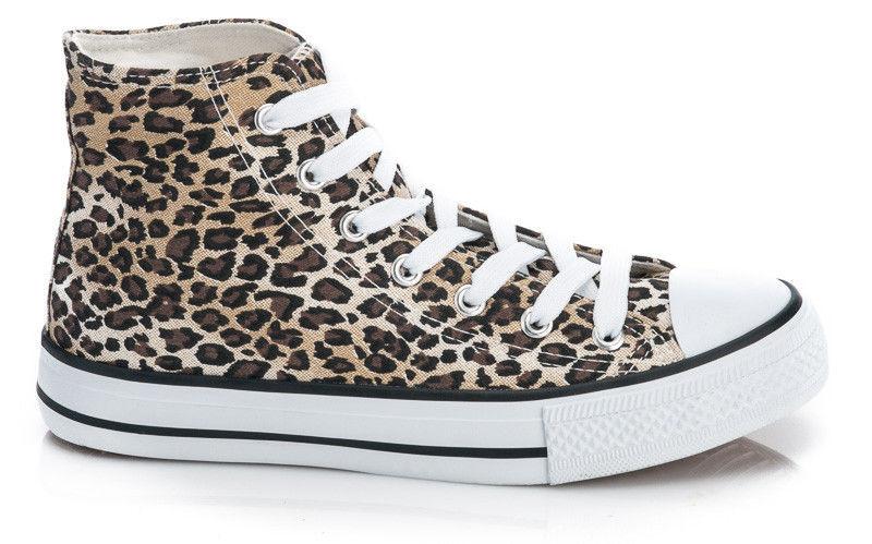 Модные леопардовые кеды  - Booms.com.ua - большой выбор товаров по доступным ценам! в Киеве