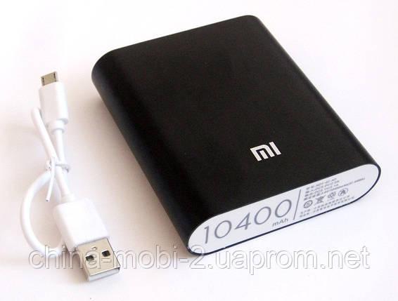 Универсальная батарея - Xiaomi power bank MI 4, 10400 mAh, black, фото 2