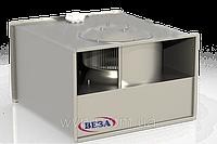 Вентилятор канальный прямоугольный Канал-ПКВ-80-50-6-380