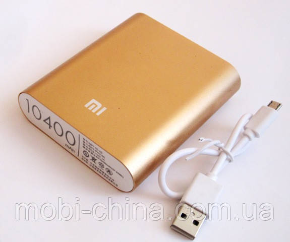 Универсальная батарея - Xiaomi power bank MI 4, 10400 mAh, gold