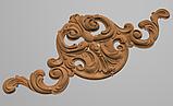 Код ДГ 32.Деревянный резной декор для мебели. Декор горизонтальный, фото 2