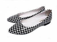 Туфли Т-413 натуральная кожа гусиная лапка