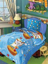 Полуторное постельное белье Барбоскины По волнам