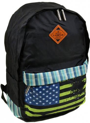 Неповторимый городской рюкзак с отделением для ноутбука текстиль Lanpad 25 л. 2310-1 black