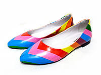 Туфли Т-413 натуральная кожа в стиле valentino
