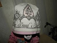 Б/У, Деми шапочка для девочки, на 2,5-3,5 года