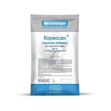 Кормосан 25 кг (Бровафарма) ветеринарный препарат для профилактики микотоксикоза.