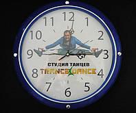 Промо-часы с логотипом, печать на часах