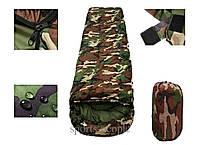 Спальный мешок (спальник) Студент, (extr:-1; comf.:+10; max:+22), коричневый цвет