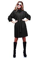 Пальто женское с рукавом летучая мышь