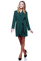 Женское пальто средней длины