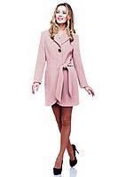 Оригинальное пальто модного кроя