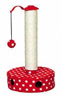 Когтеточка-столбик Trixie Scratching Post для котят, 27 х 45 см
