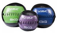 Медбол Мяч для кроссфита LiveUp Wall Ball 5 кг (LS3073-5)