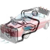 Система охлаждения Ford Escort Форд Эскорт 1990-1995