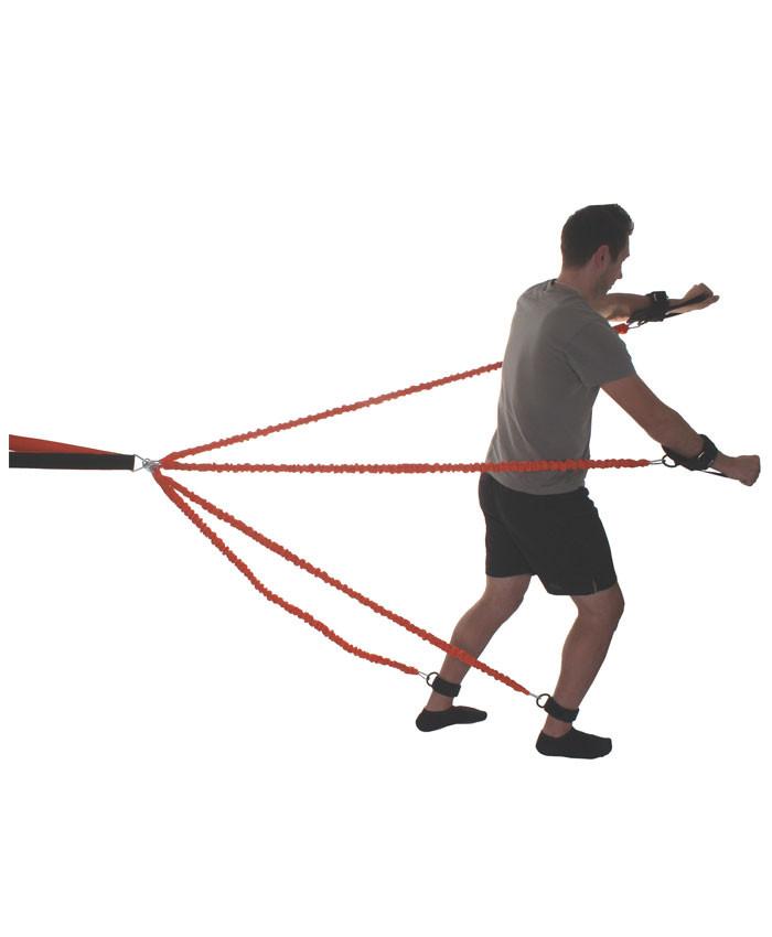Набор амортизаторов для тренировок LiveUp Striker Training System