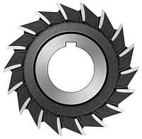 Фреза дисковая трехсторонняя ф  80х10 мм Р6М5 прямой зуб