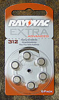 Батарейки №312 Rayovac Extra Advanced, фото 1