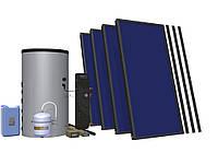 Сонячний комплект HEWALEX 4 TELPAm-INTEGRA 400 Для підігріву води для 3-8 осіб + як доповнення до ЦО!, фото 1