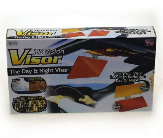 Антибликовый, солнцезащитный козырёк для авто день/ночь hd vision vizor