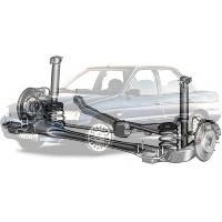 Детали подвески и ходовой Ford Escort Форд Эскорт 1995-2001