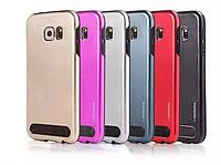 Пластиковый чехол-накладка для телефона Motomo case Samsung A8 Gold