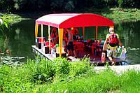 Путешествие на плотах по реке Десна.