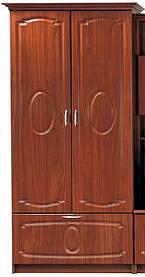 Шкаф  Марта 2115х800х520мм    Мебель-Сервис