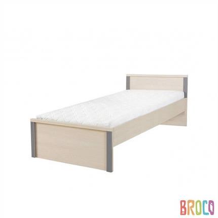 Кровать односпальная BRW Caps LOZ/90 , фото 2