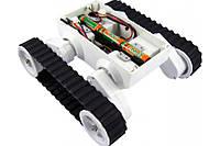Гусенична платформа для робота Arduino Rover 5 Tank Chassis (2 motors) , фото 1