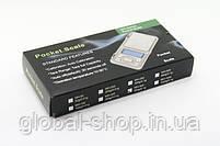 Карманные ювелирные электронные весы 0,01-500 гр , фото 4