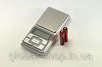 Карманные ювелирные электронные весы 0,01-500 гр , фото 3