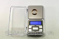 Карманные ювелирные электронные весы 0,01-500 гр , фото 5