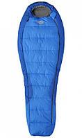 Cпальный мешок левый Pinguin TOPAS 175 синий L BHB Micro