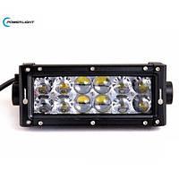Светодиодная фара PowerLight BK03-60 60W с  линзами OSRAM