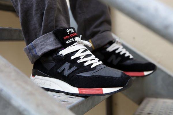 online store a4acd 57a85 New Balance 998 Black/Red: продажа, цена в Киеве. кроссовки, кеды  повседневные от