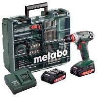 Аккумуляторный шуруповерт Metabo BS 18 Quick Mobile Workshop