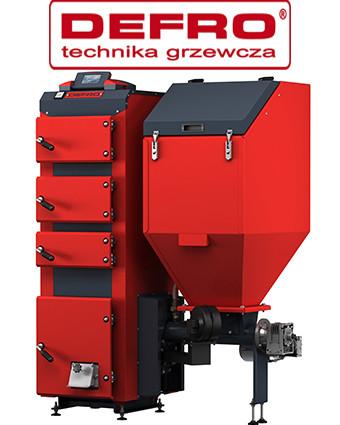 Котлы с автоматической подачей топлива Defro (Дефро) - Польша