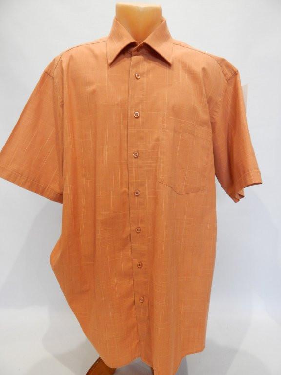 107КР Мужская рубашка с коротким рукавом СОMMANDER