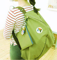 Сумка - рюкзак (трансформер) Easy to Carry салатовый, фото 1
