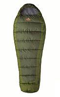 Спальный мешок правый TREKKING 190 зеленый R