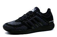 Кроссовки мужские Adidas Cosmic Boost, текстиль, черные, фото 1