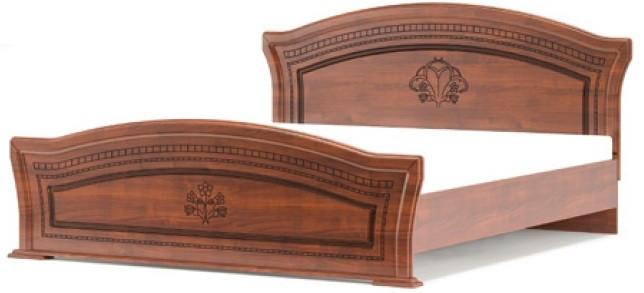 Кровать двухспальная Милано 1600 Мебель-Сервис