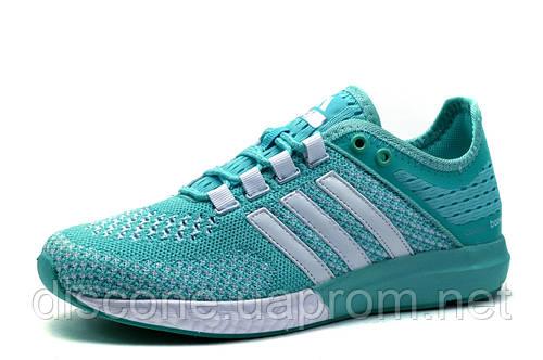 Кроссовки Adidas Cosmic Boost унисекс, текстиль, бирюзовые