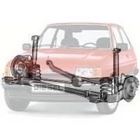 Детали подвески и ходовой Ford Fiesta Форд Фиеста 1983-1989